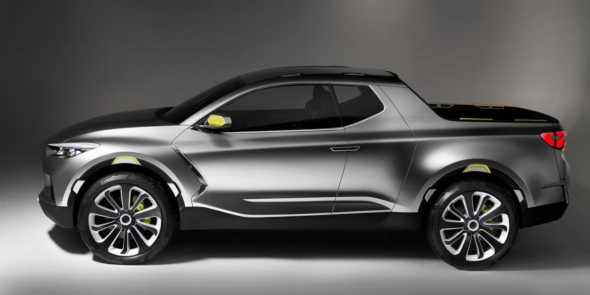Hyundai將推出跨界貨卡Santa Cruz Pickup,售價低於19000美元