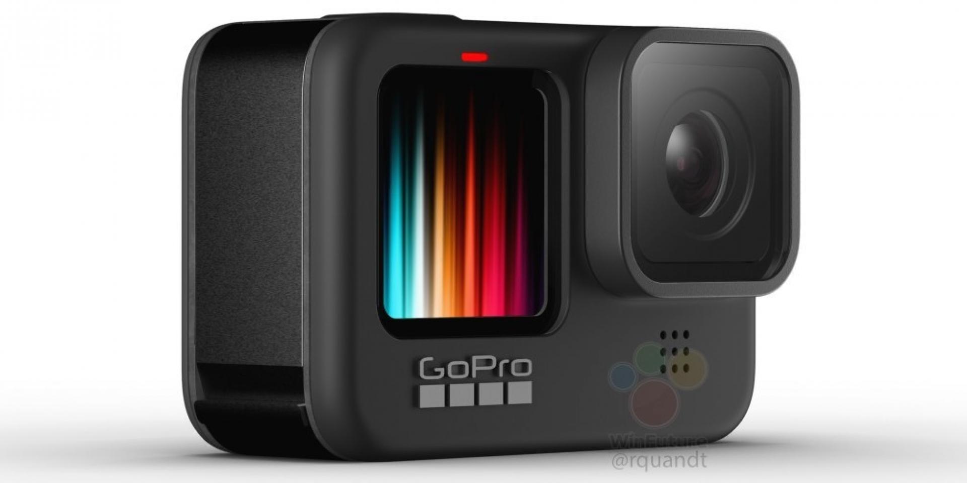 GoPro Hero 9 Black疑似實機照流出,終於有正面自拍螢幕了