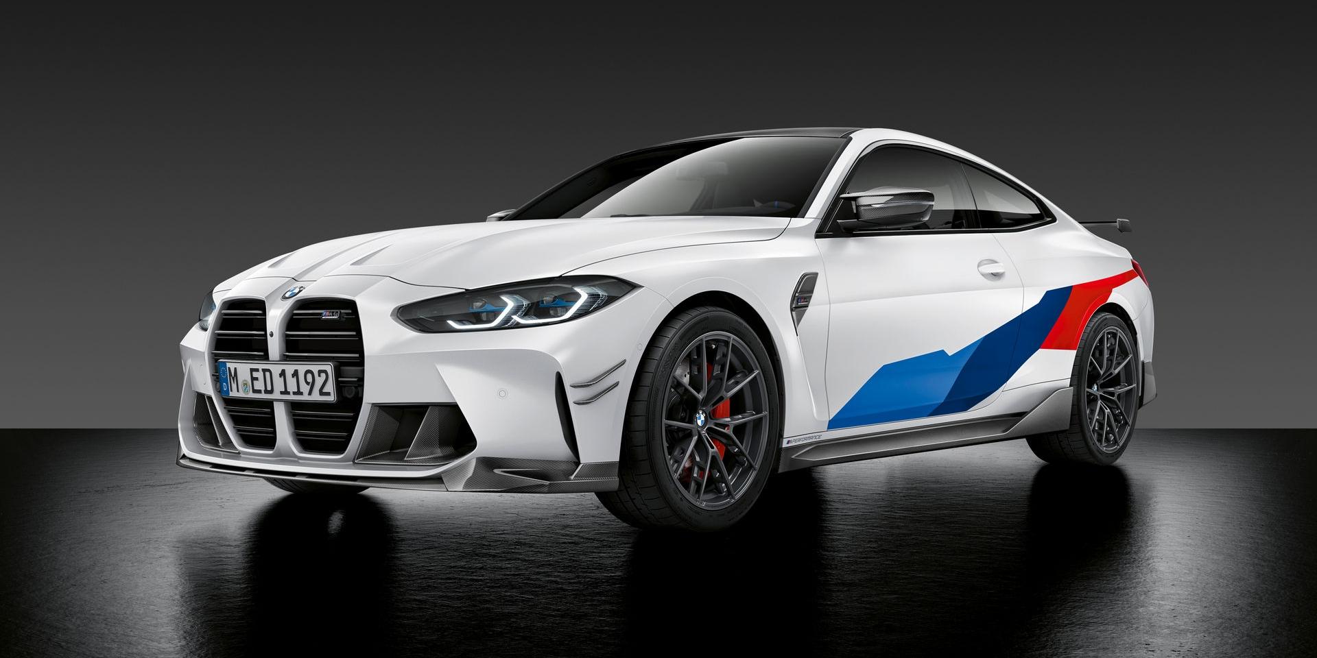 BMW M3、M4剛上市就推出M Performance專屬套件