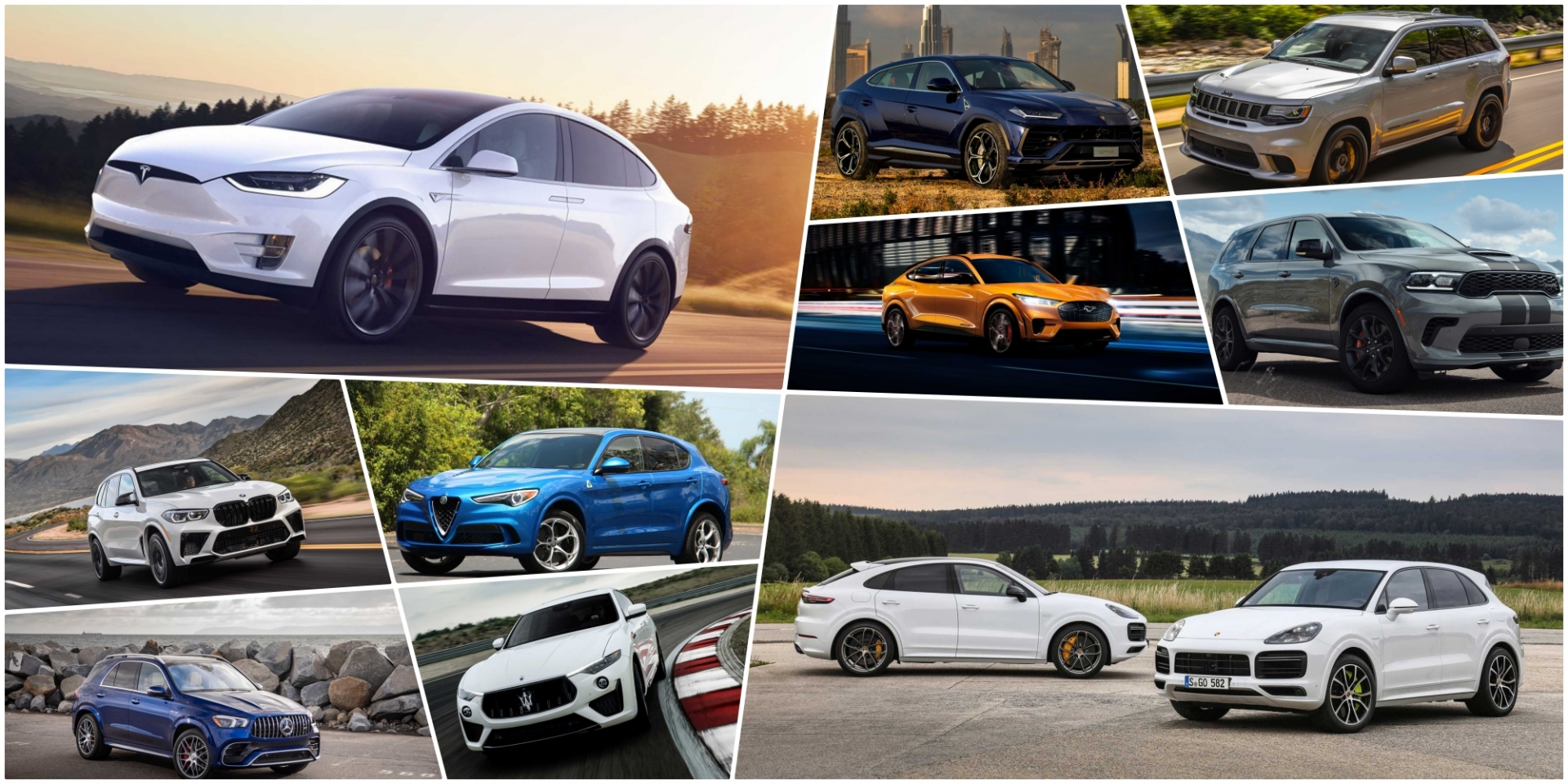 性能休旅點名!2020-2021年最快的20輛SUV!(上)