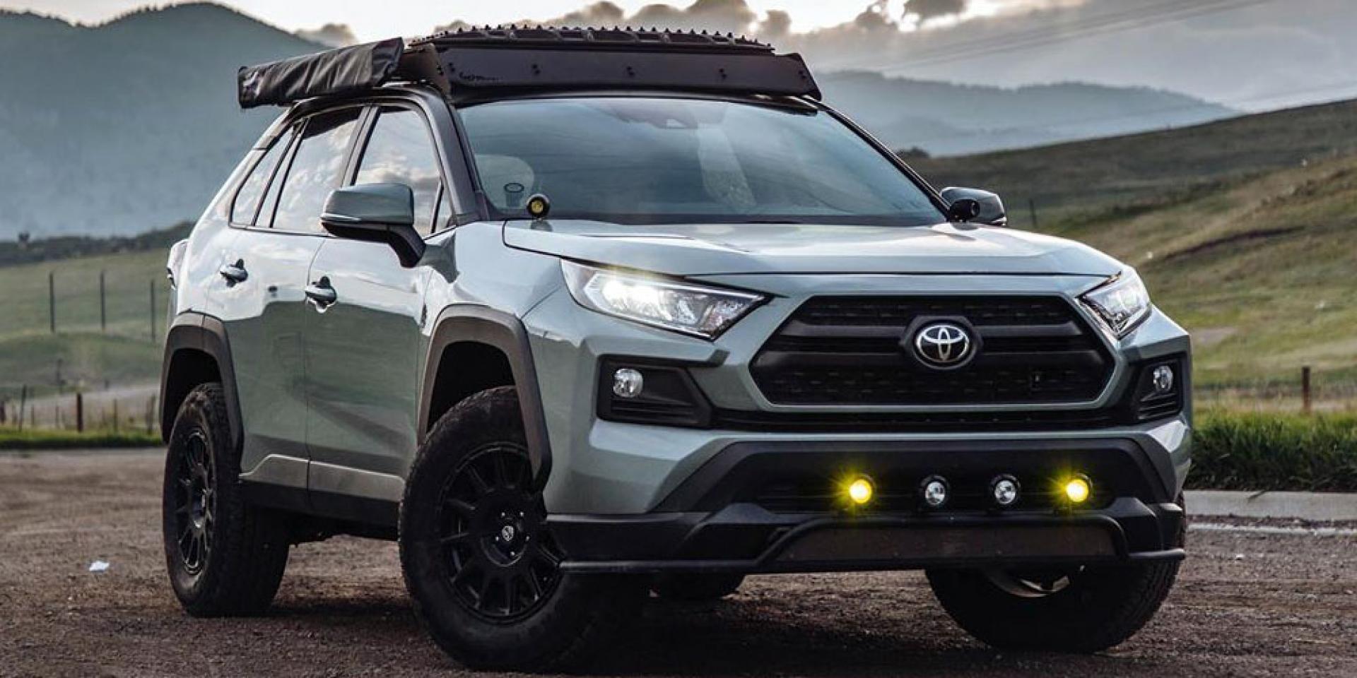 脫下制服的探險猛將,美國冒險玩家的改裝Toyota RAV4