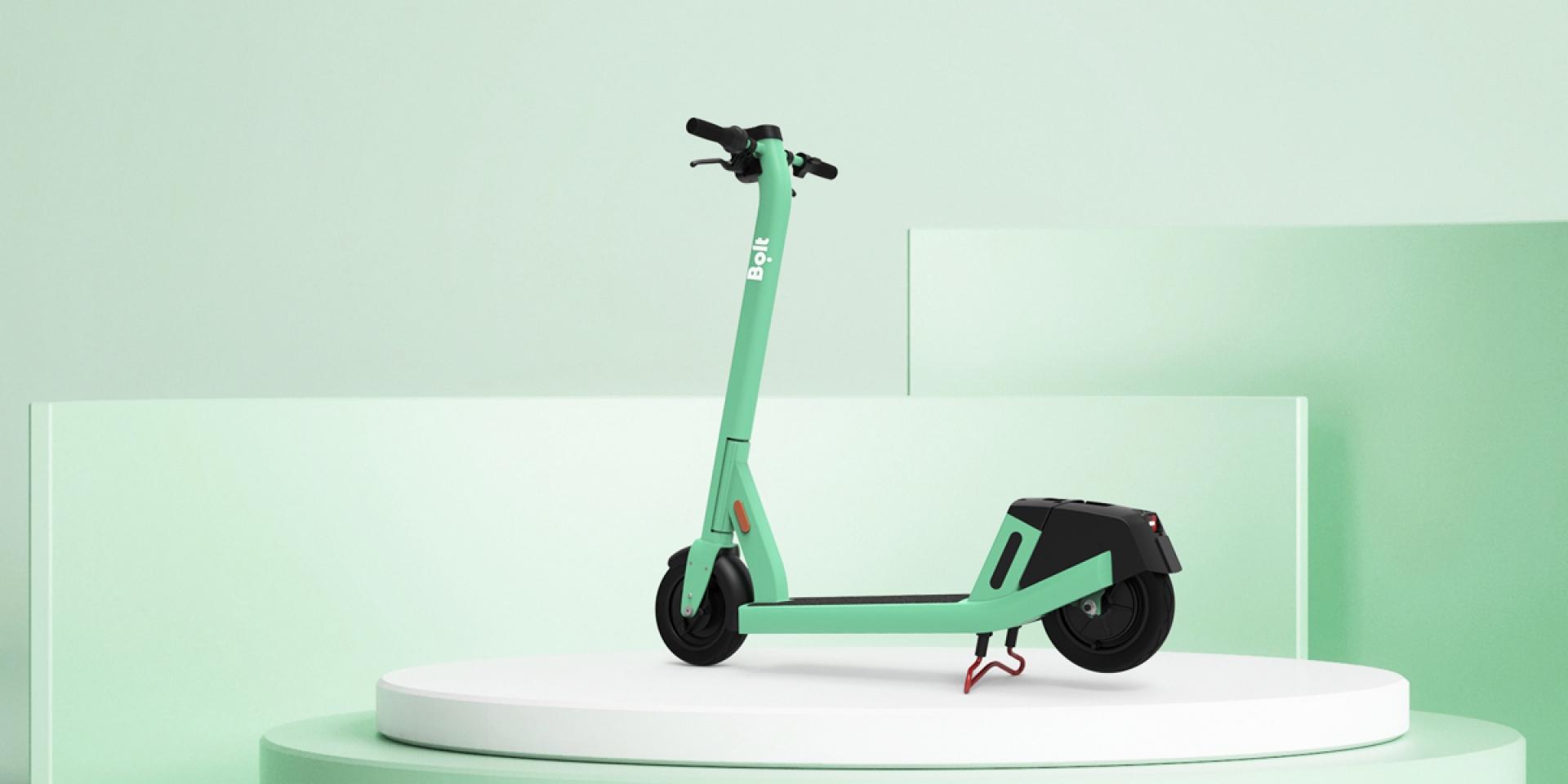 滑板車也可以換電?Bolt 4還能夠自動偵測事故!