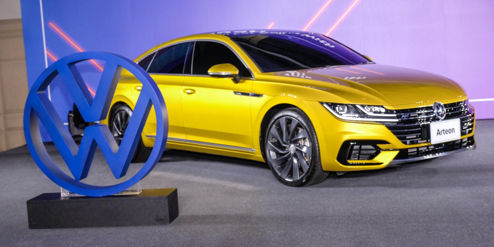 VW保養延長三萬公里一次 轎跑VW ARTEON即將引進。2020台灣福斯市場新規劃