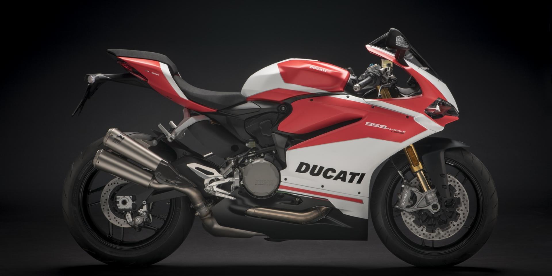 2017米蘭車展。Ducati 959 Panigale Corse展現經典