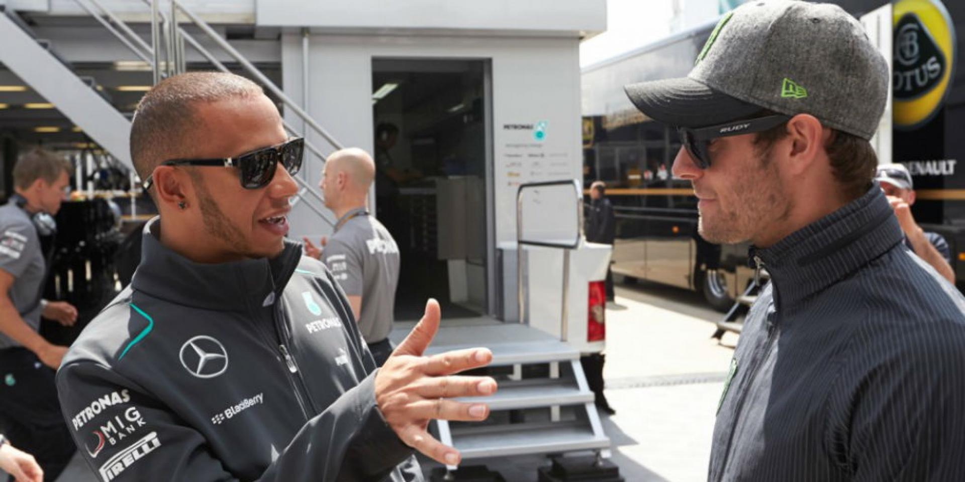 MotoGP比F1還要更硬派,至少F1世界冠軍Lewis Hamilton是這麼認為的!