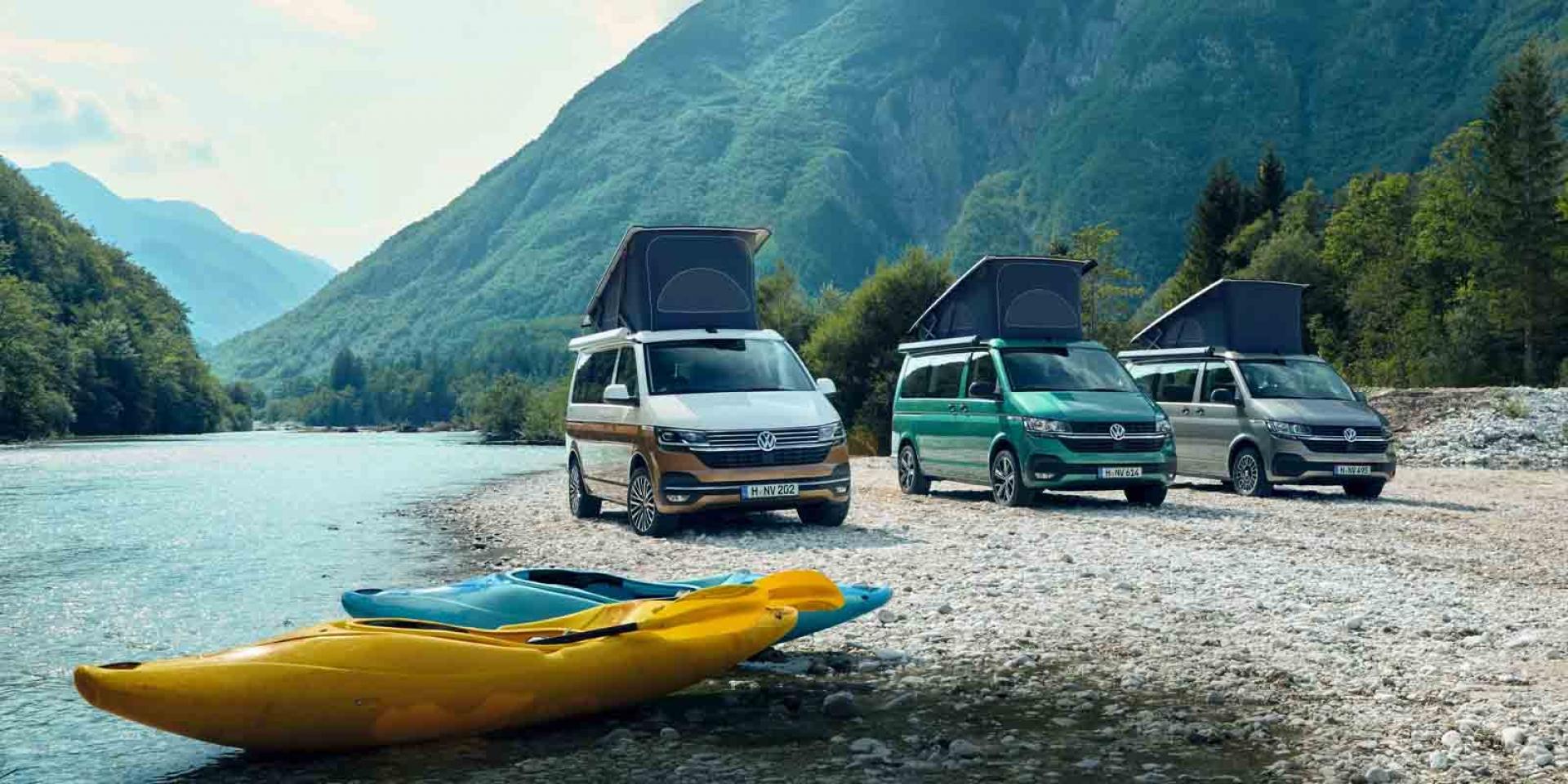 官方新聞稿。一生絕對要有的夢幻露營車全員到齊。T6.1 California Coast限量上市,貫徹VanLife精神