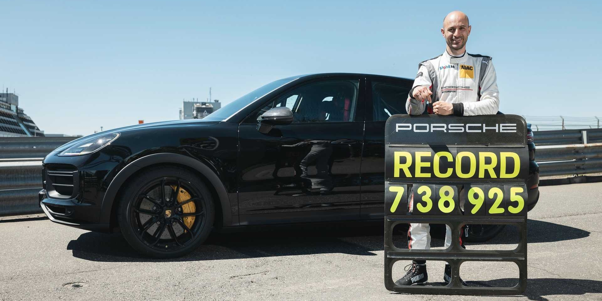 紐伯林最速SUV換人!Porsche Cayenne Coupe新車型寫下7:38.925佳績!