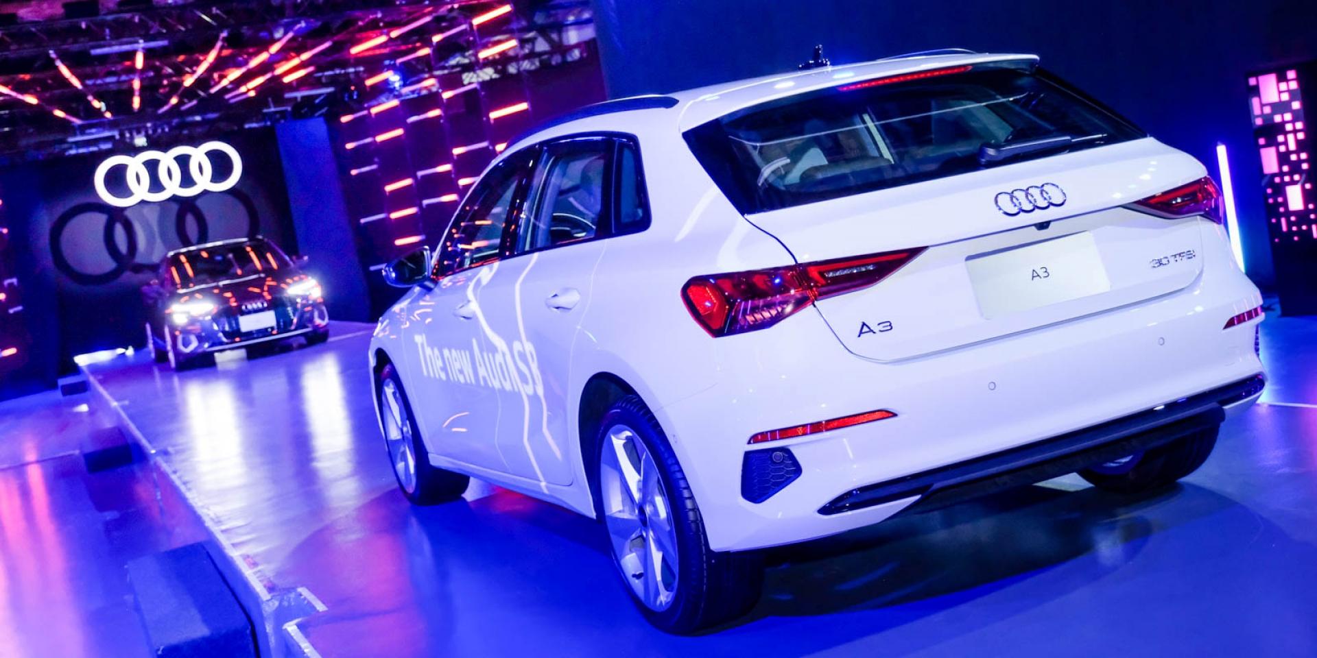 1.0L引擎、48V輕油電導入!Audi A3/S3 Sportback 138萬元起正式發表