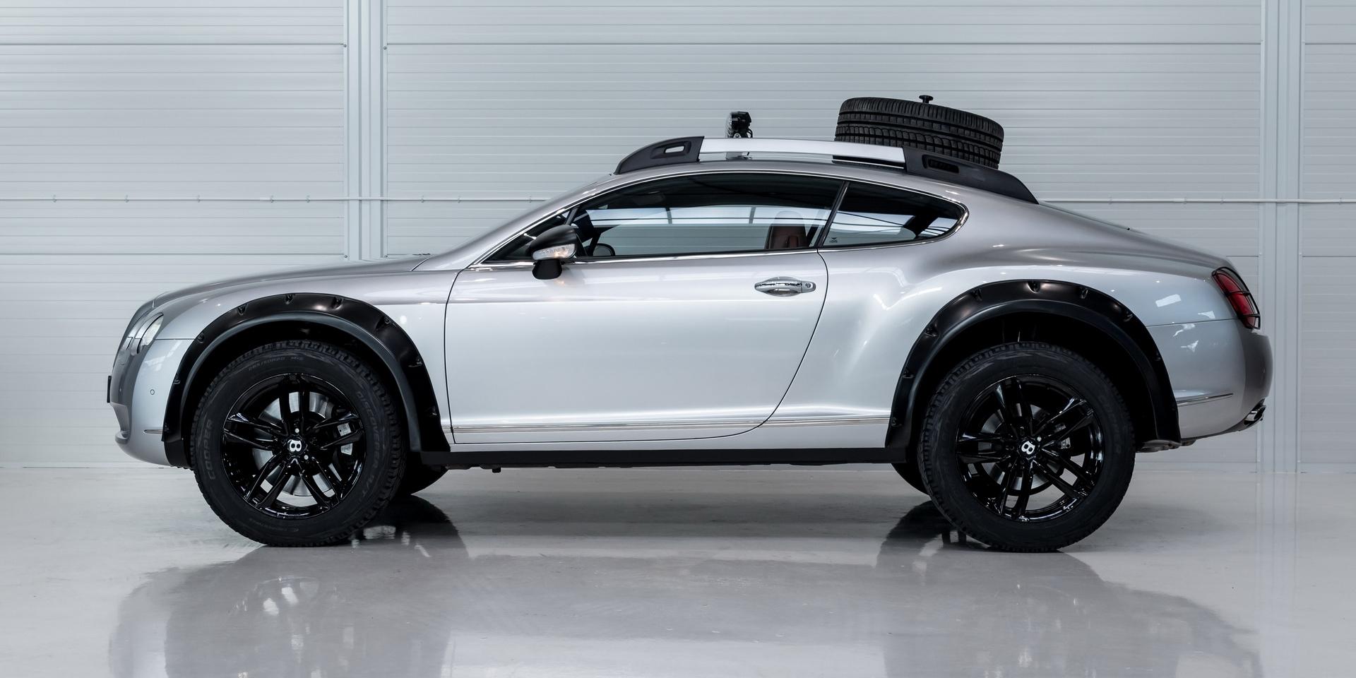 有錢就任性,Bentley Continental GT變身越野車