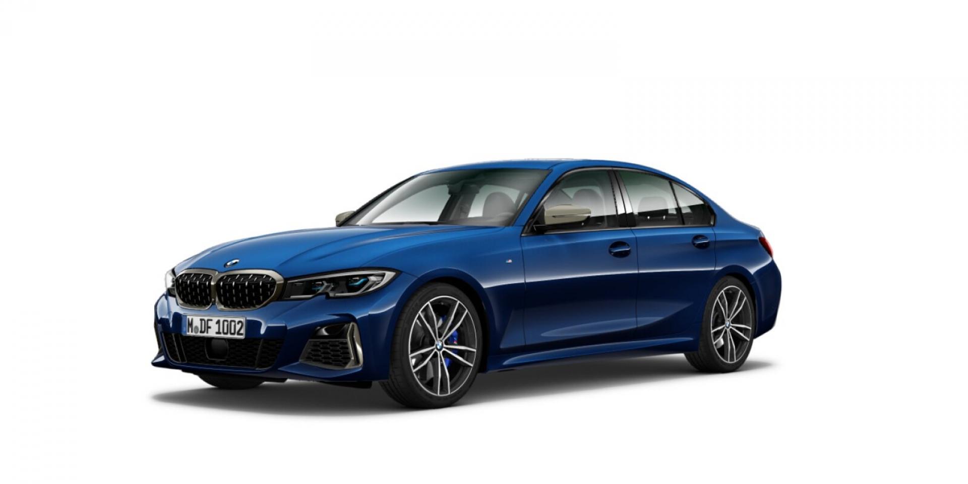 BMW G20 3系列照片曝光!取消了排檔桿的設計?