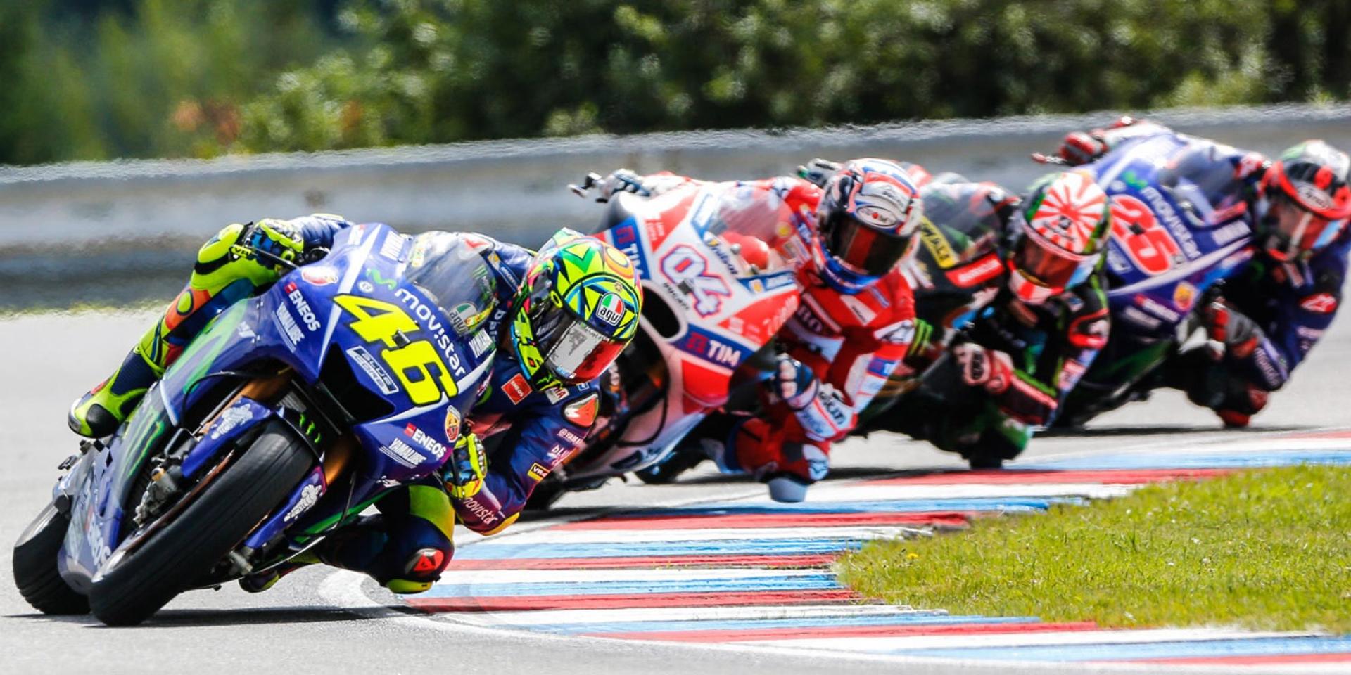 猴王的信心喊話。Rossi:「冠軍還有機會,剩下的比賽中我會將自己推到極限。」