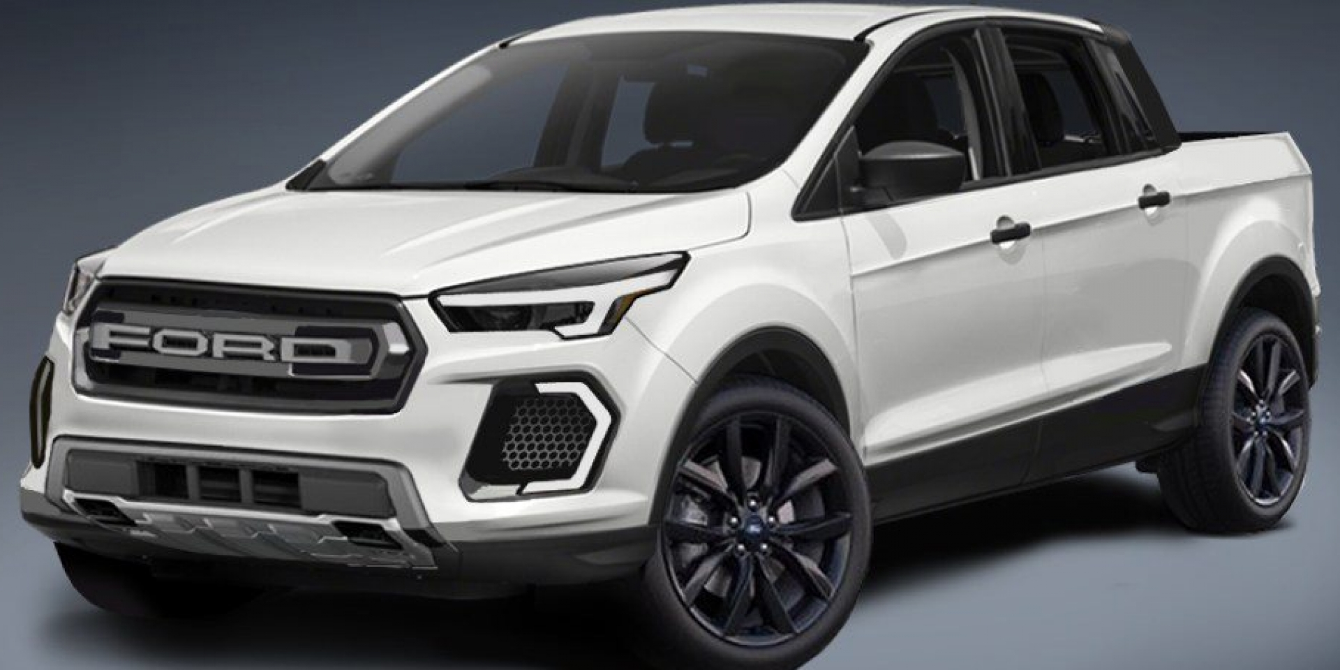 以Focus為基礎打造Pickup 將搭載2.0L渦輪增壓引擎