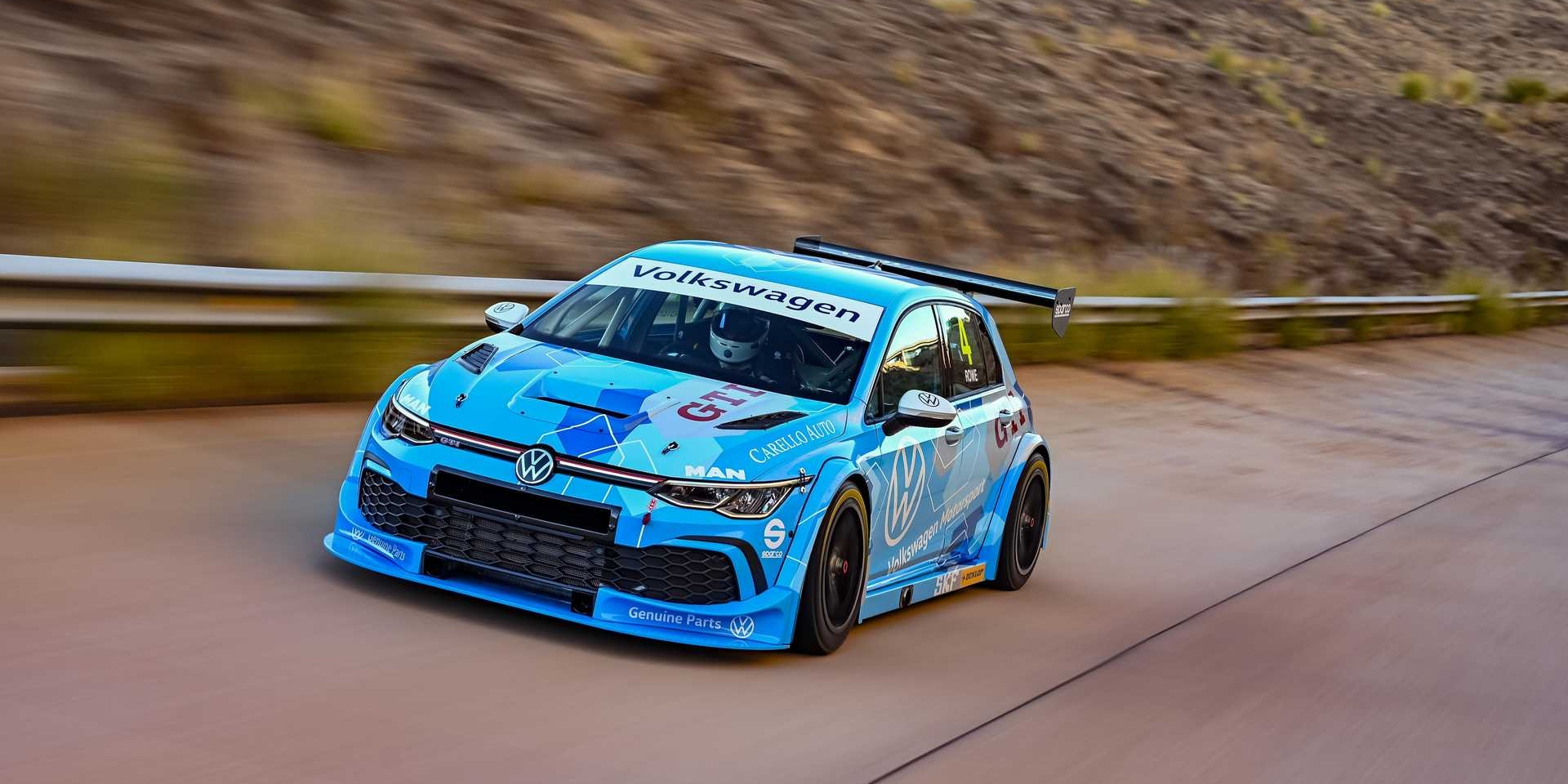 專為南非GTC賽事推出八代VW Golf GTI GTC賽車