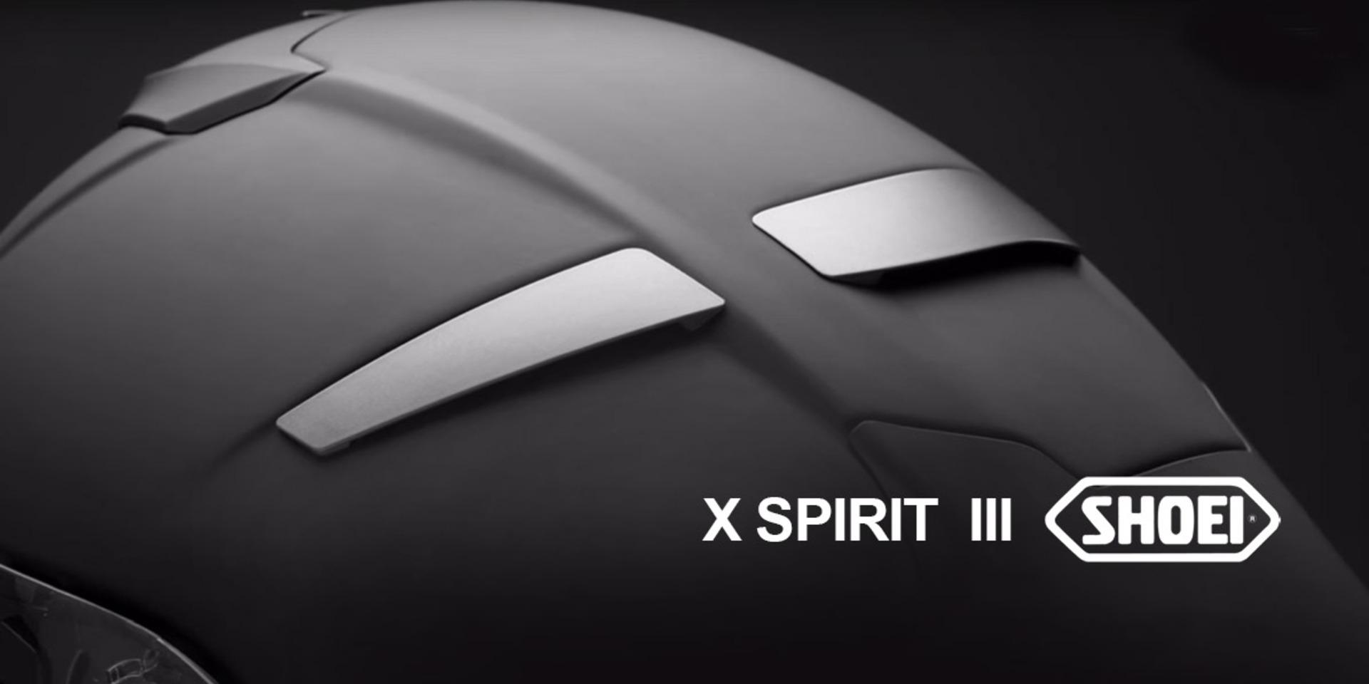 為競技而生!SHOEI頂級帽 X-Spirit III (X14) 發表