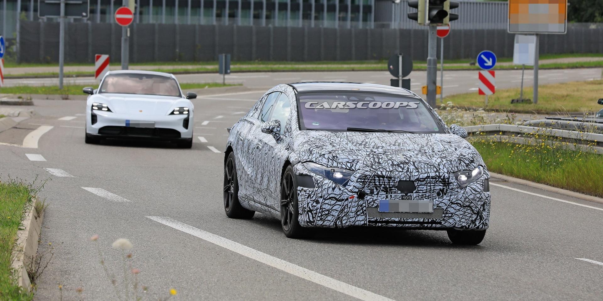 電動雙雄爭霸!Mercedes-Benz EQS與Porsche Taycan比一比!