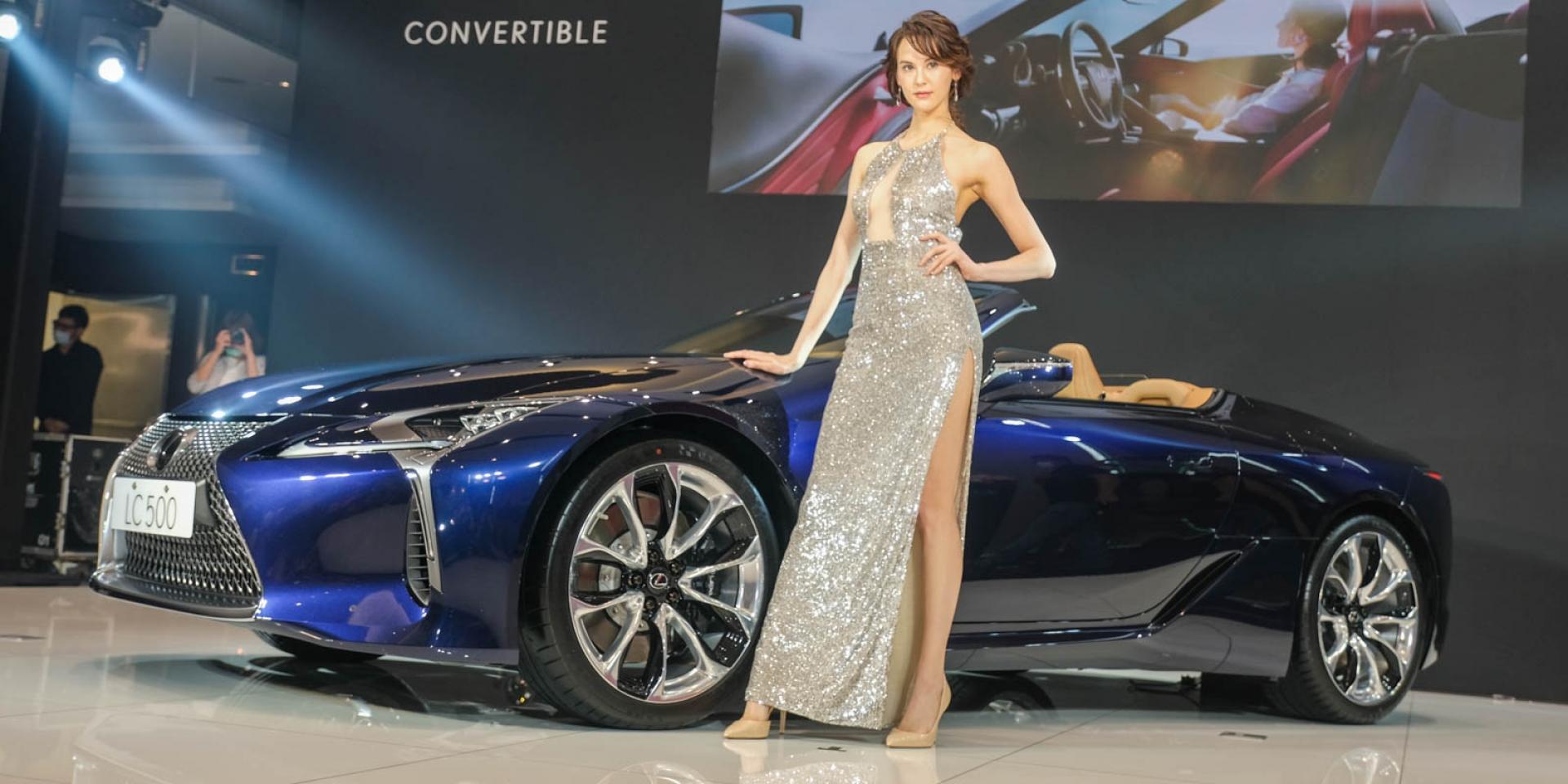 頂級敞篷GT跑車 Lexus LC 500 Convertible 588萬元起台灣上市