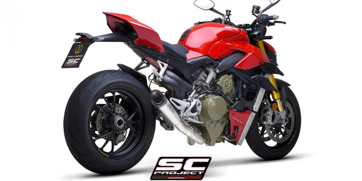嫌你的街頭幹架王還不夠吵?SC Project推出Ducati Streetfighter V4專用排氣管!