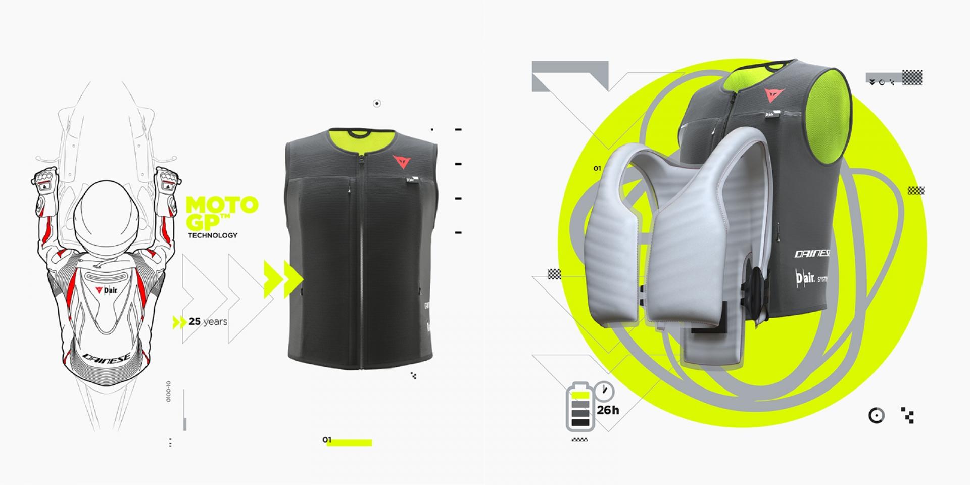 透氣、便利、好收納!DAINESE D-air®氣囊智慧夾克登場