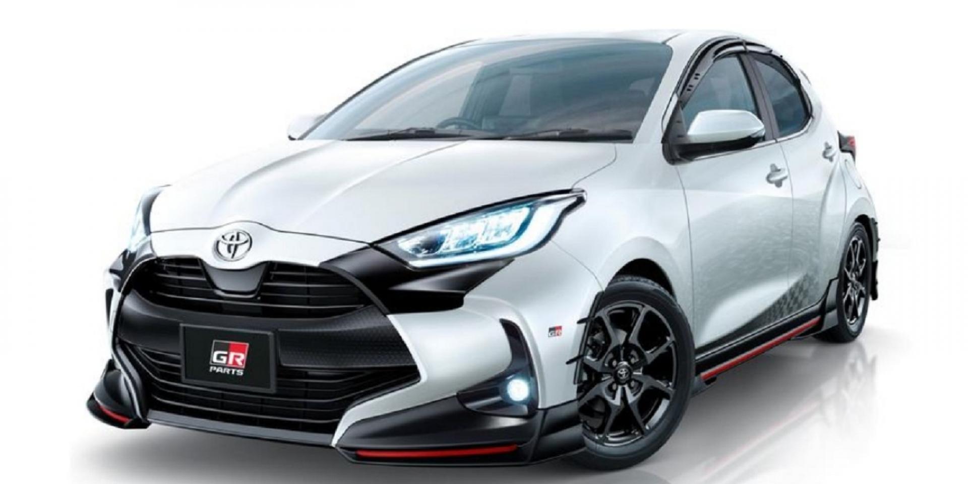 小鴨大變身,TRD與Modellista同步推出Toyota Yaris升級套件
