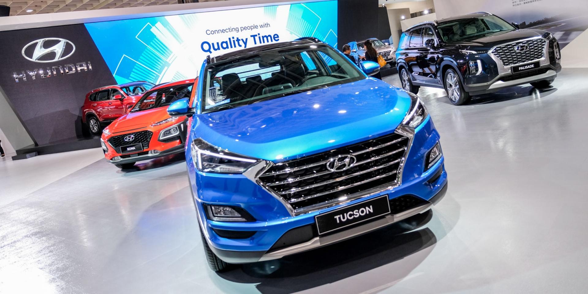 2020世界新車大展。Hyundai All-New SANTA FE發表。KONA「EV」也來了
