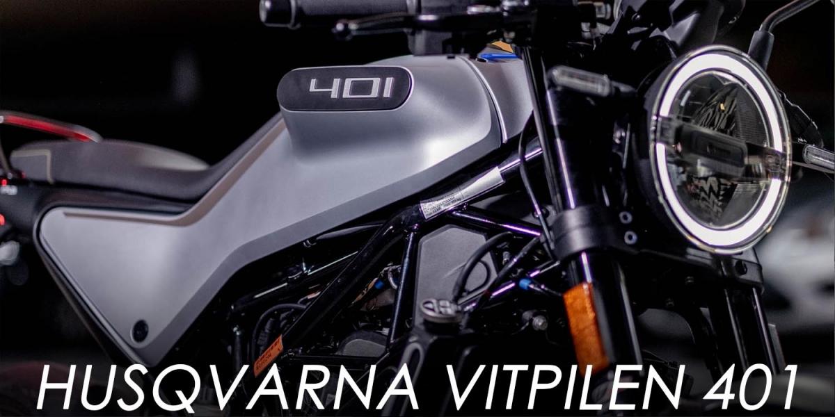 車界金城武!Husqvarna Vitpilen 401
