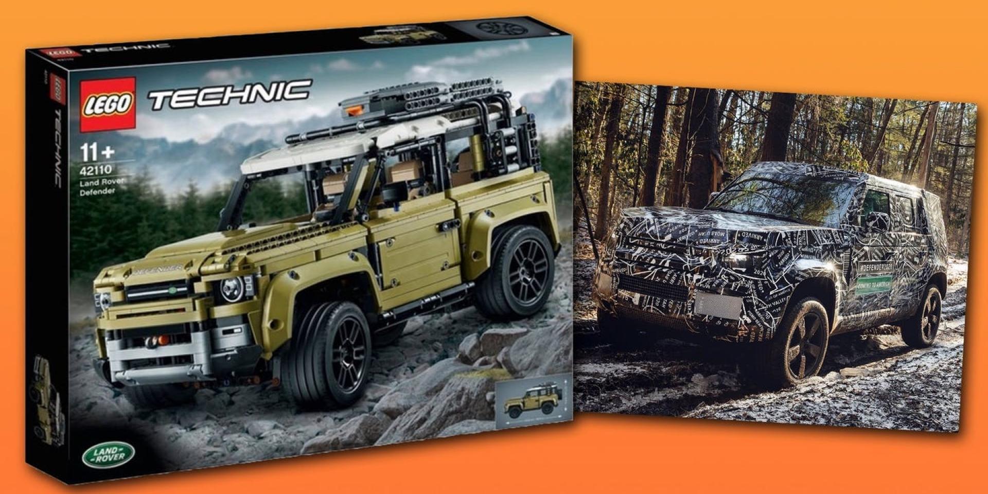 車輛尚未正式發表,Lego確定推出2020 Defender模型?
