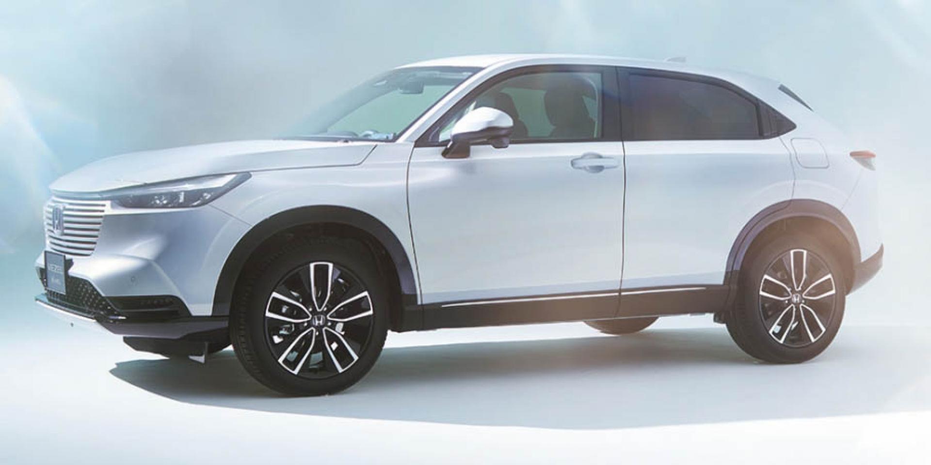HONDA HR-V大改款日本發表,HONDA SENSING搭載、油電動力同步亮相