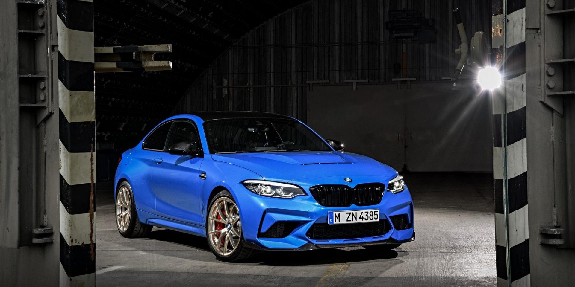 提供六速手排的最強性能BMW M2 CS正式發表