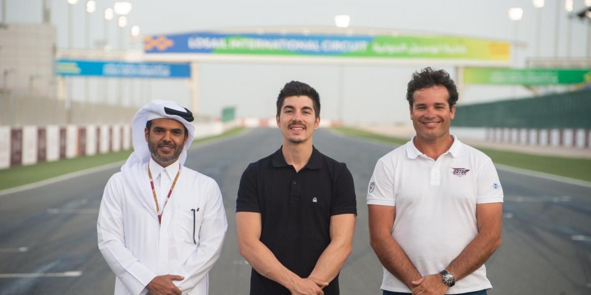 GP車手教你騎!Maverick Vinales支援卡達賽車學院車手培養課程