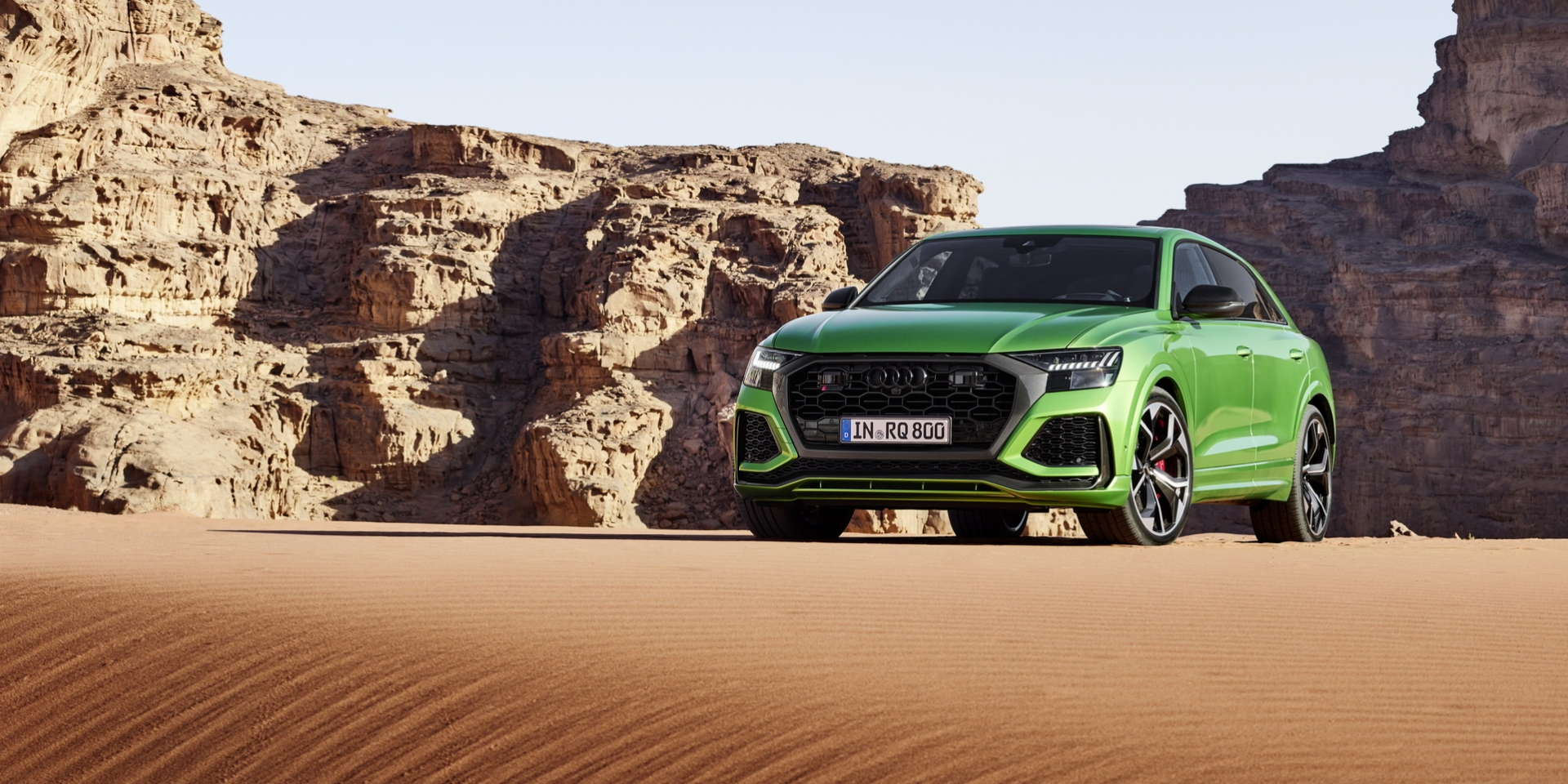 比GT-R更快!Audi RS Q8 600hp輕油電動力正式發表!