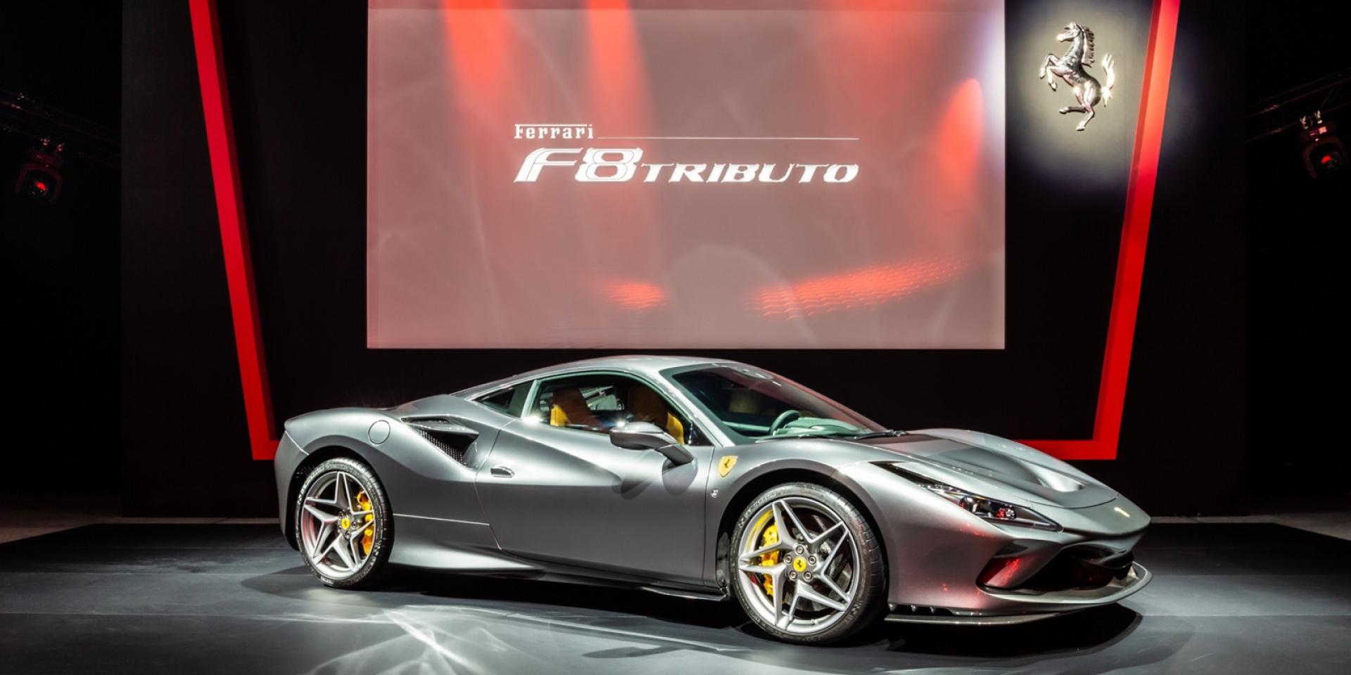 官方新聞稿。躍馬品牌V8運動型跑車巔峰大作 Ferrari F8 Tributo 正式登台