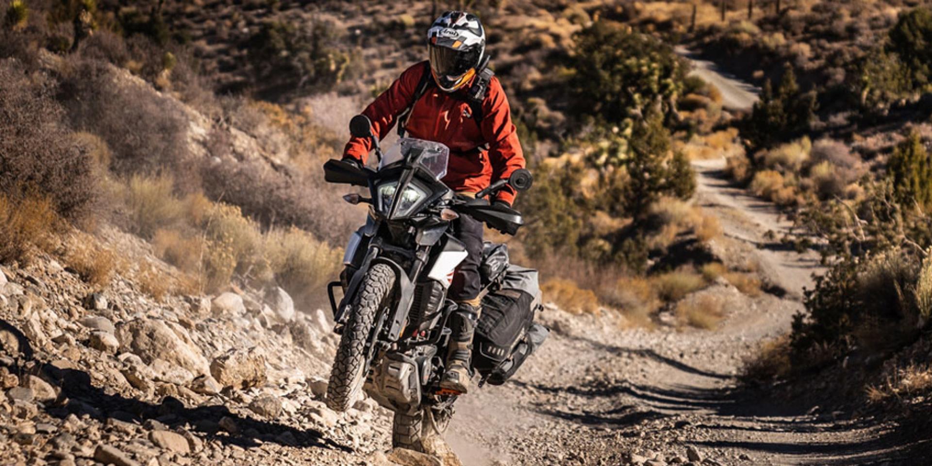 強化越野玩樂性!KTM 390 ADVENTURE 新增原廠鋼絲框選配