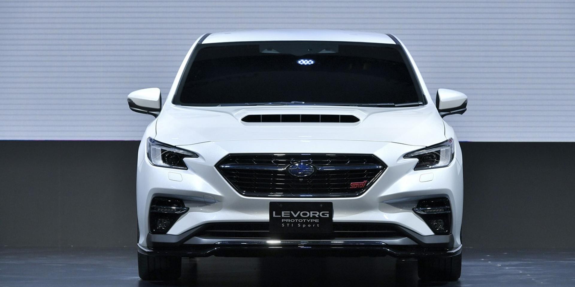 東京車展亮相Subaru Levorg Prototype STI