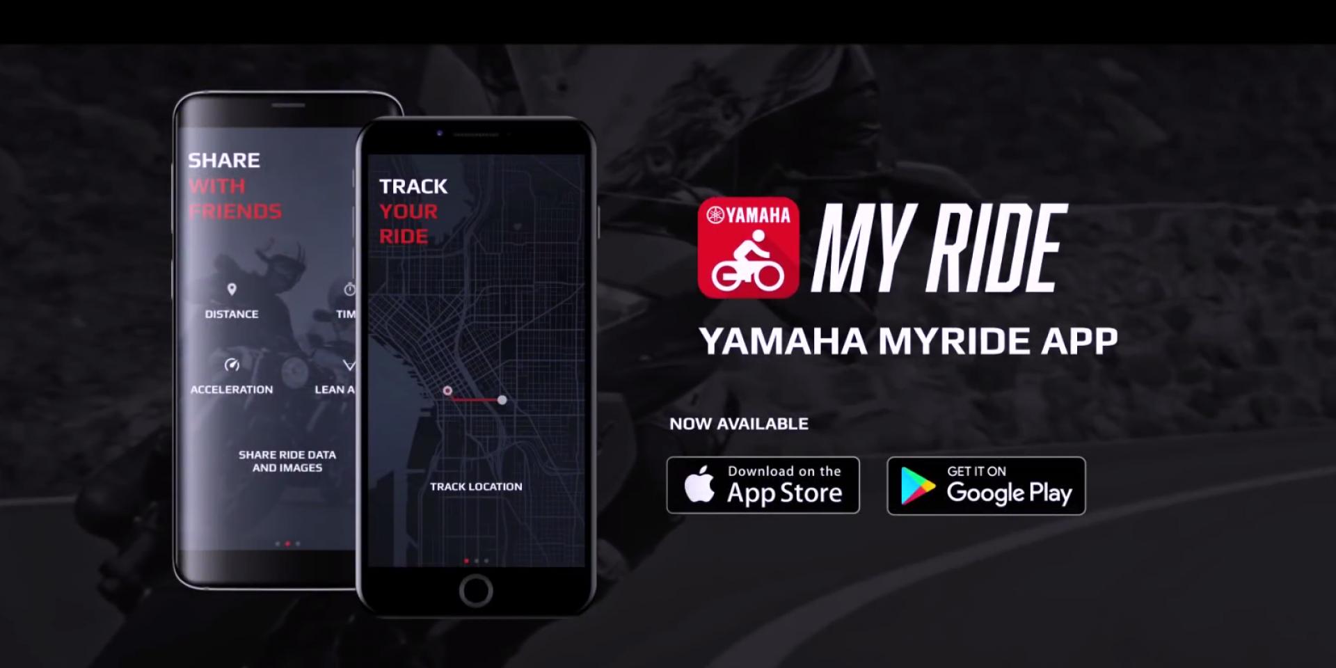 記錄你的路途,YAMAHA推出紀錄騎乘資訊APP