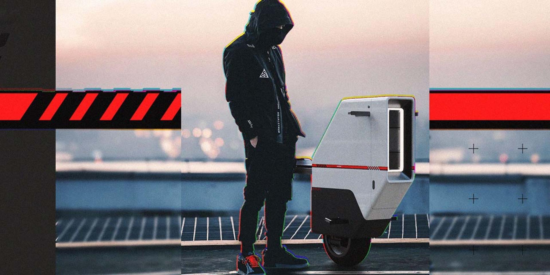 重新定義未來移動 ! 來自西班牙設計師的 Honda Baiku 概念電動車