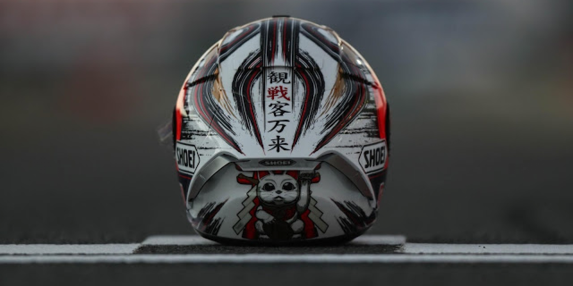 SHOEI X-14 Marquez 招財貓配色十月發售