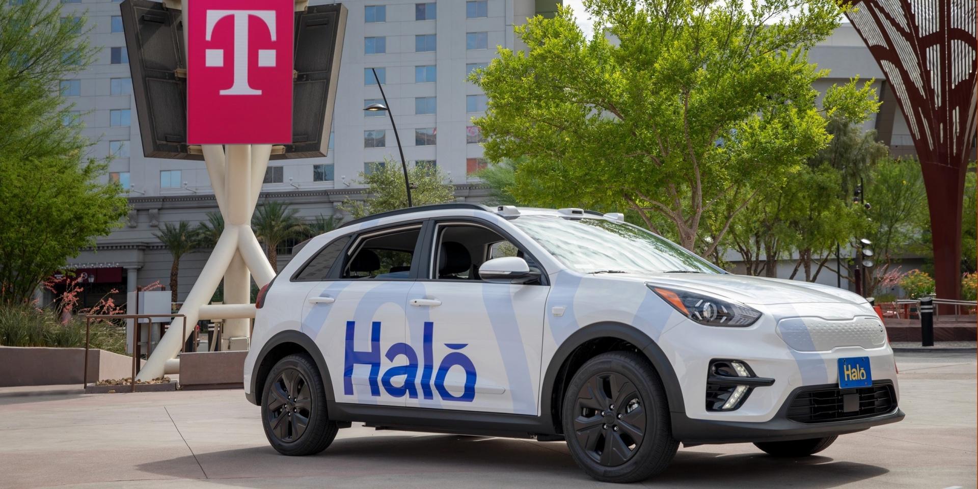無人駕駛搖控車現身賭城!Halo與T-Mobile聯手打造移動新模式!