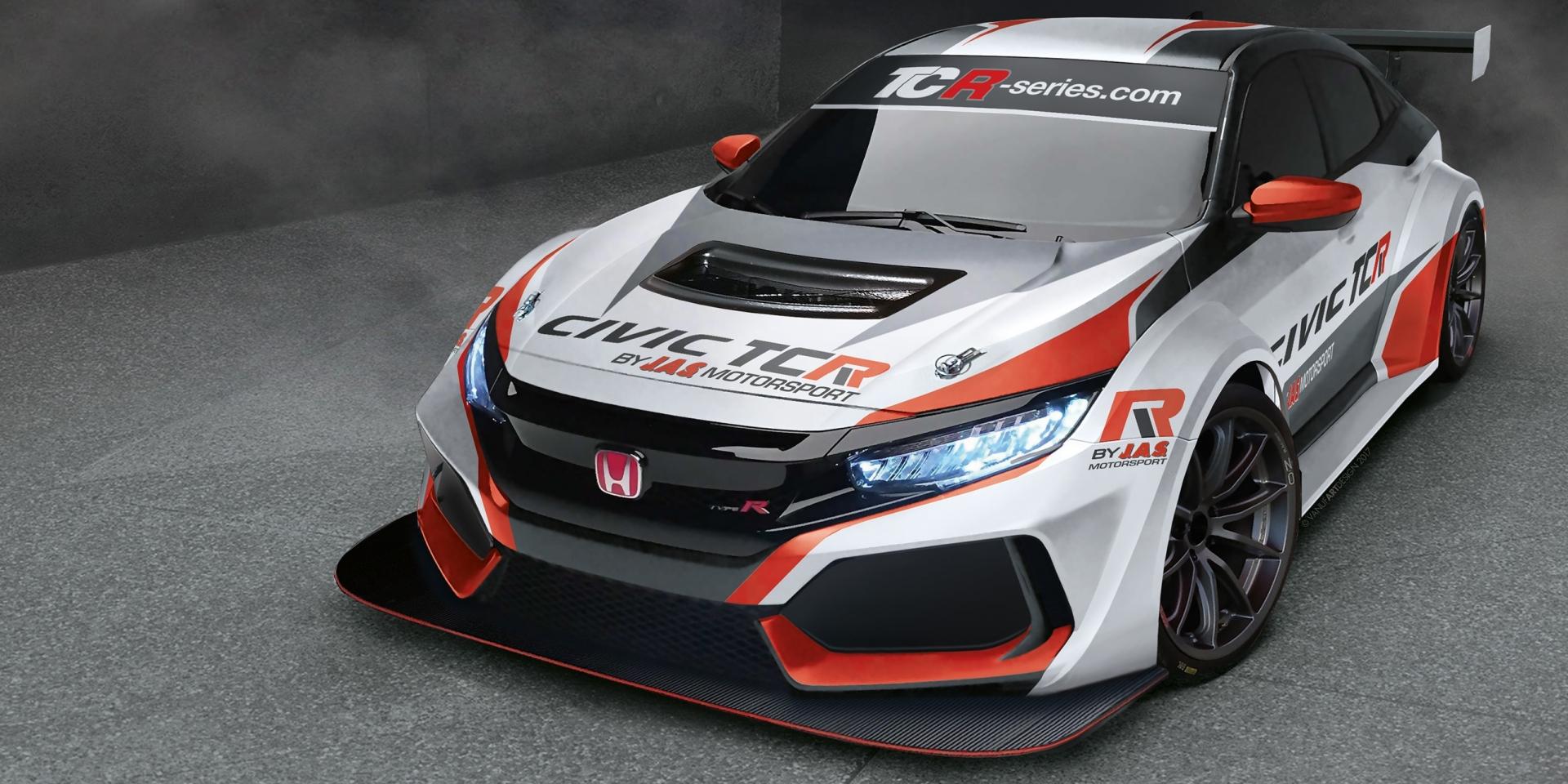 走向群眾走向賽車場 十代Honda Civic Type R將參戰TCR房車賽