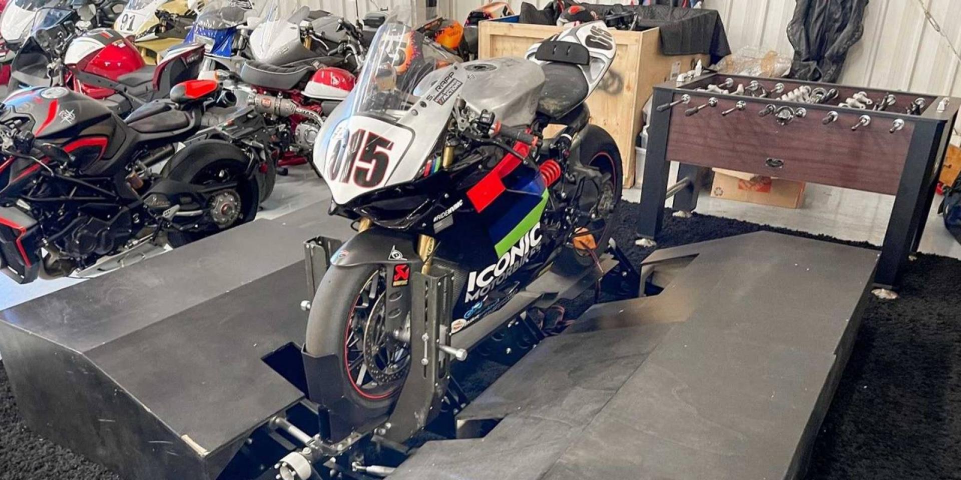 花16萬就能在家騎車!Moto Trainer Basic 模擬器拍賣中