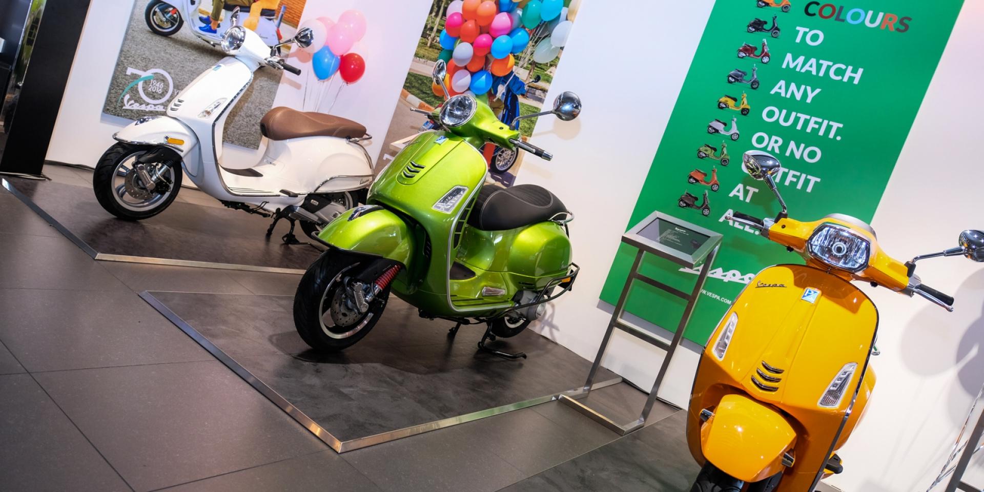 來自米蘭的城市休憩廳。Vespa Motoplex內湖旗艦店開幕!