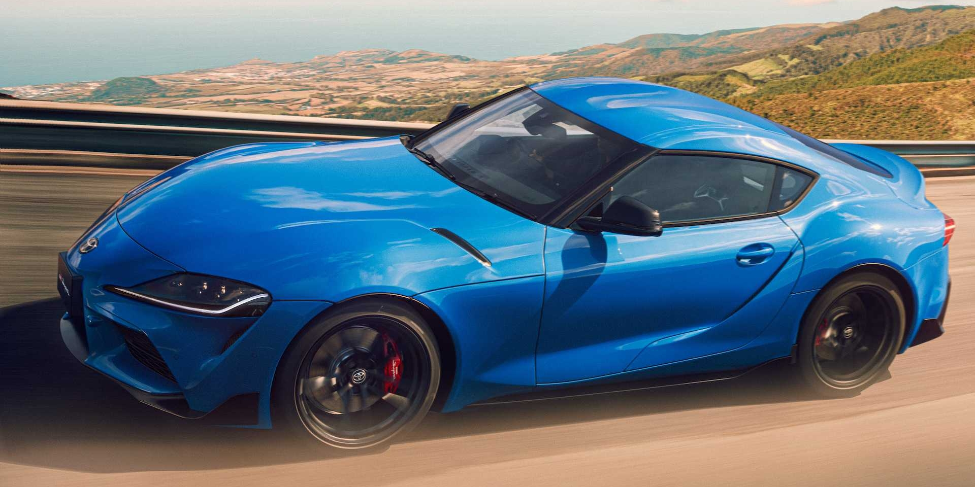 Toyota Supra限量Horizon Blue版本 動力更強!加速更快!