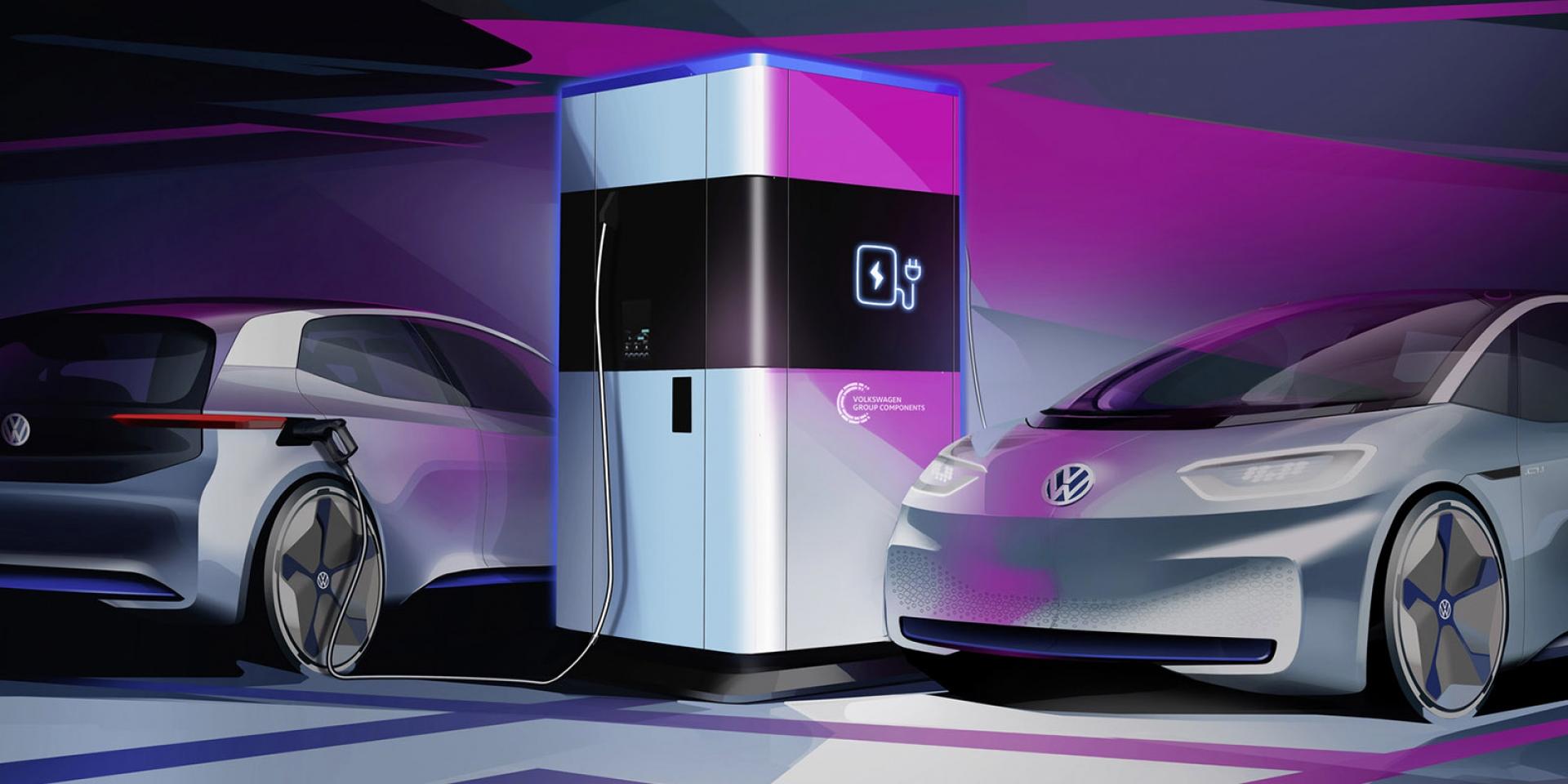 超大行動電源!VW將在2020年實行行動充電站計畫