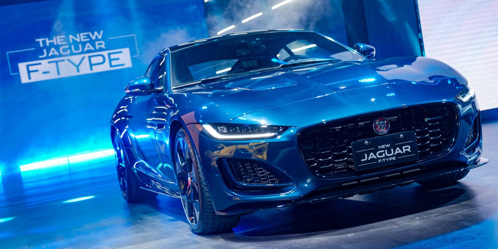 外觀小改更經典!New Jaguar F-Type 366萬起發表上市