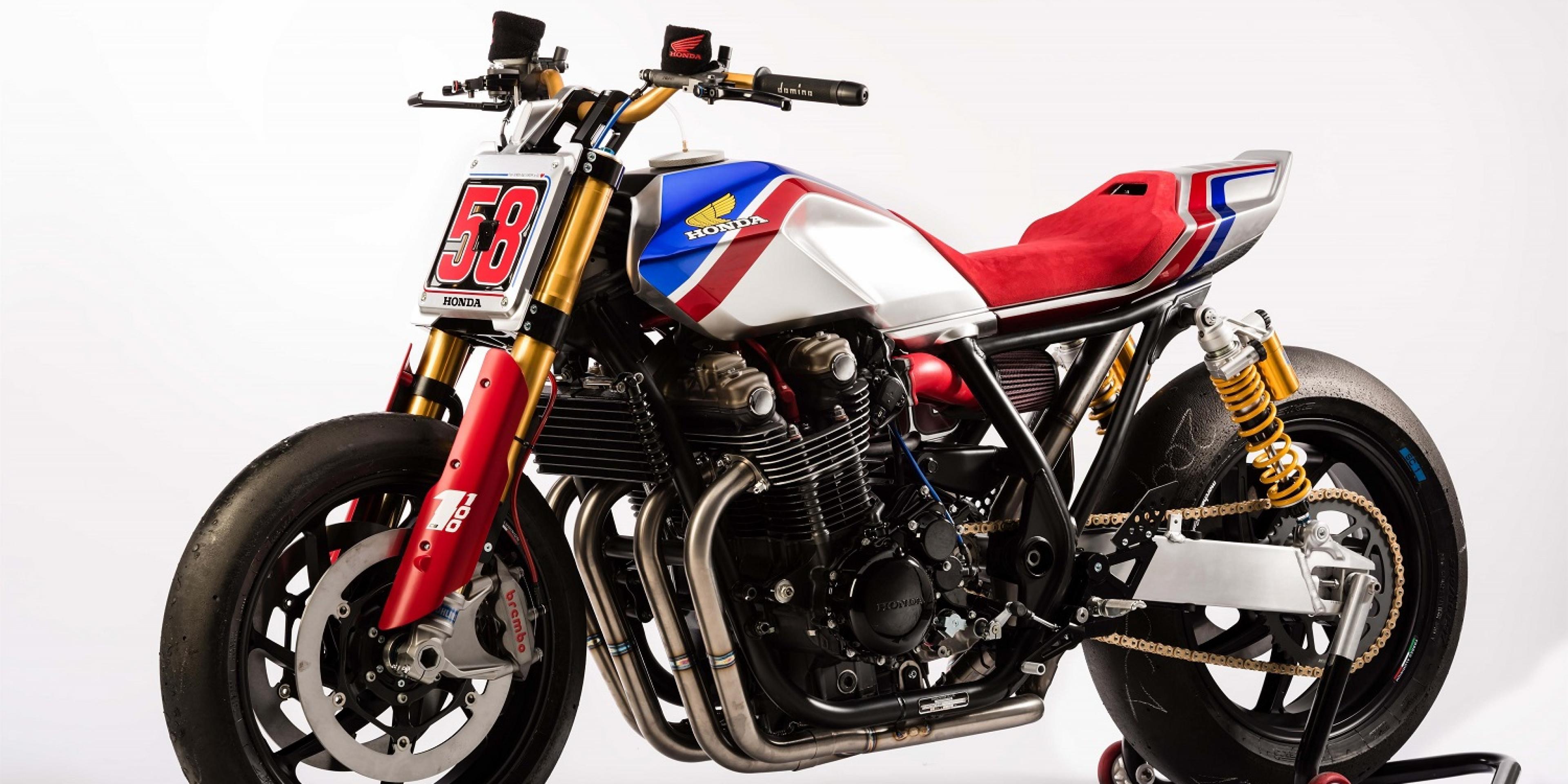 向GP傳奇致敬的概念車。Honda CB1100 TR Concept