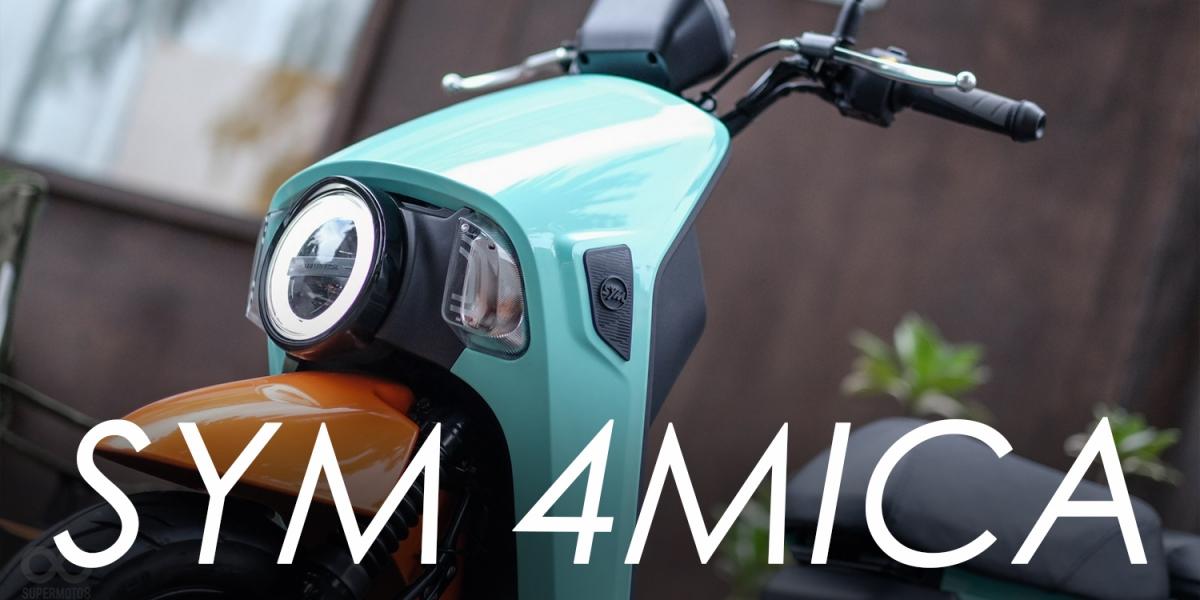 撐起斜槓人生的文青小車。SYM 4MICA 試乘體驗
