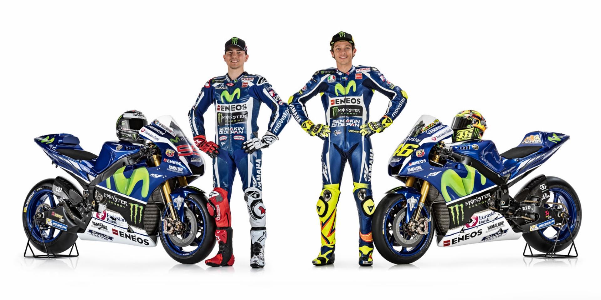2016 MotoGP YAMAHA 廠隊塗裝正式公布。圖集