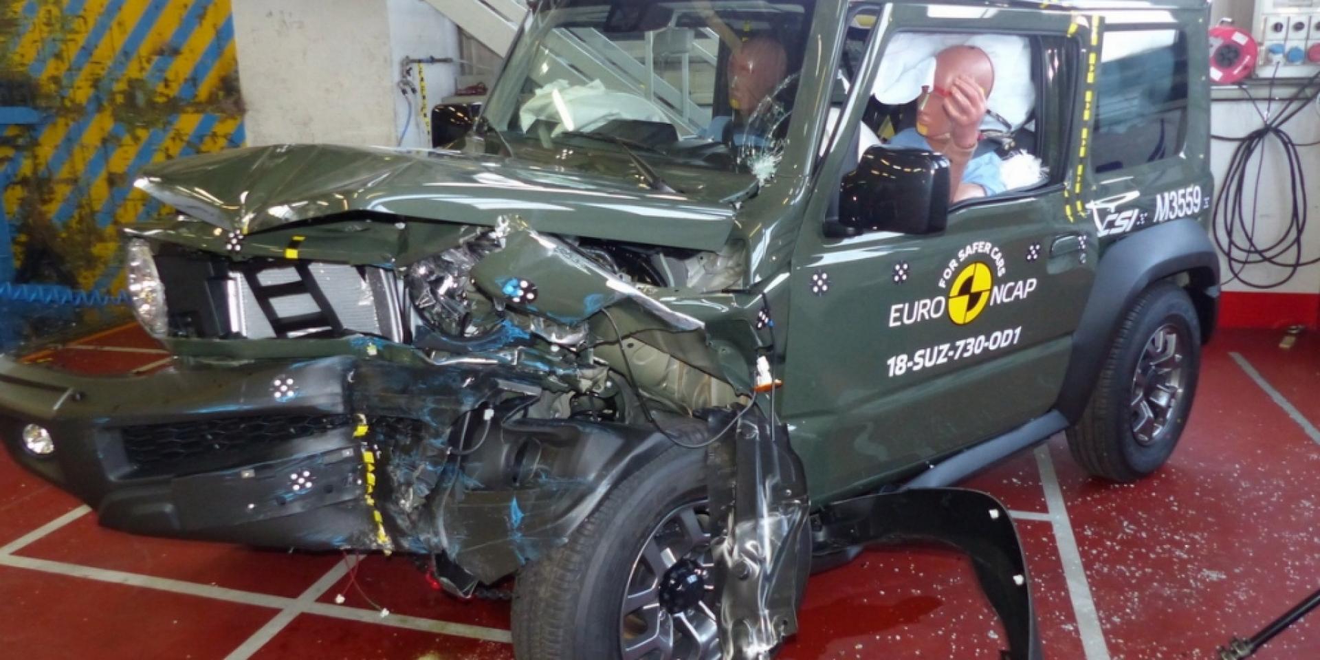 Euro NCAP三顆星讓人失望?Suzuki Jimny真的不安全嗎?