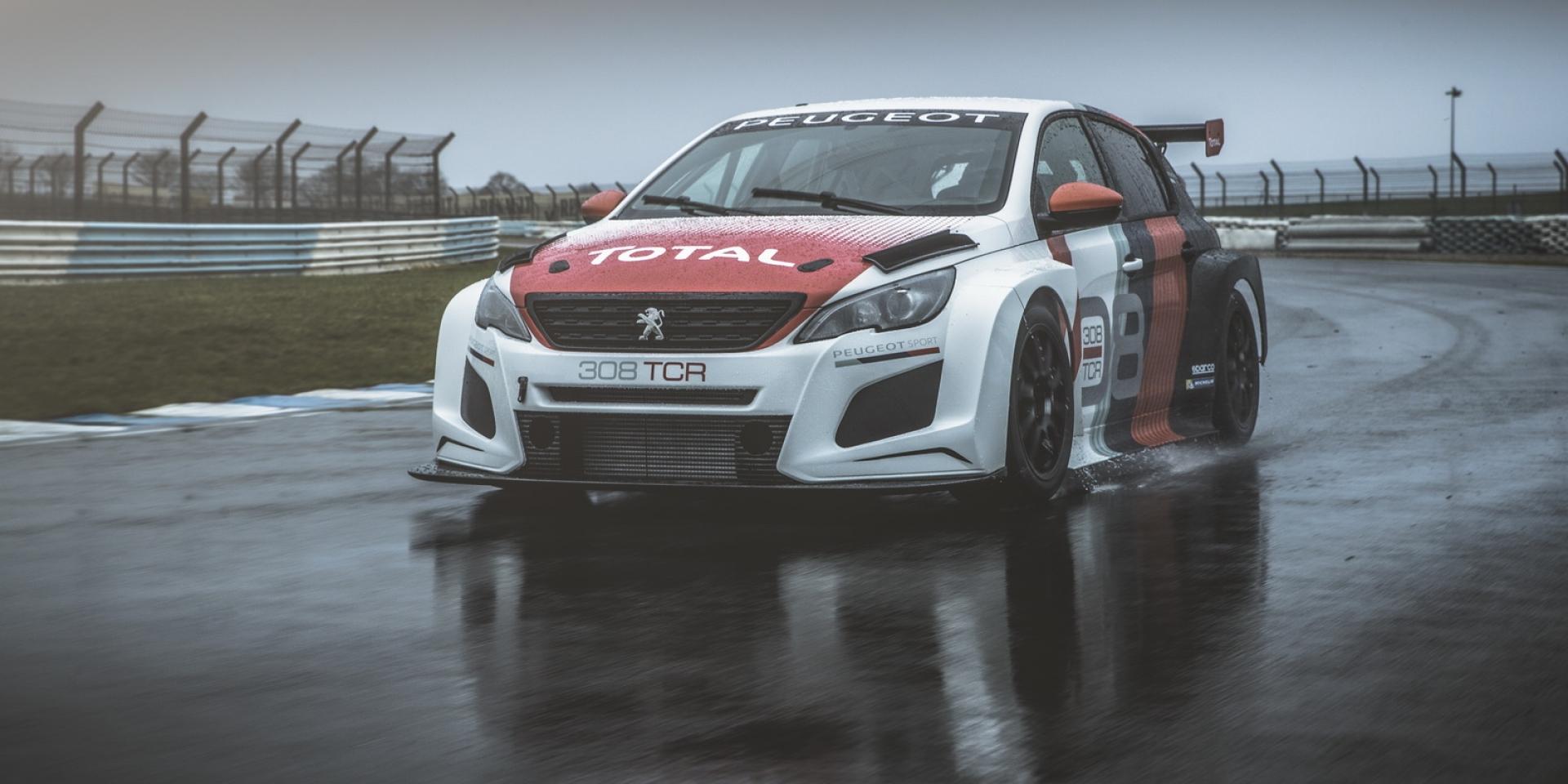 性能更強大,Peugeot 308 Racing Cup進化308 TCR