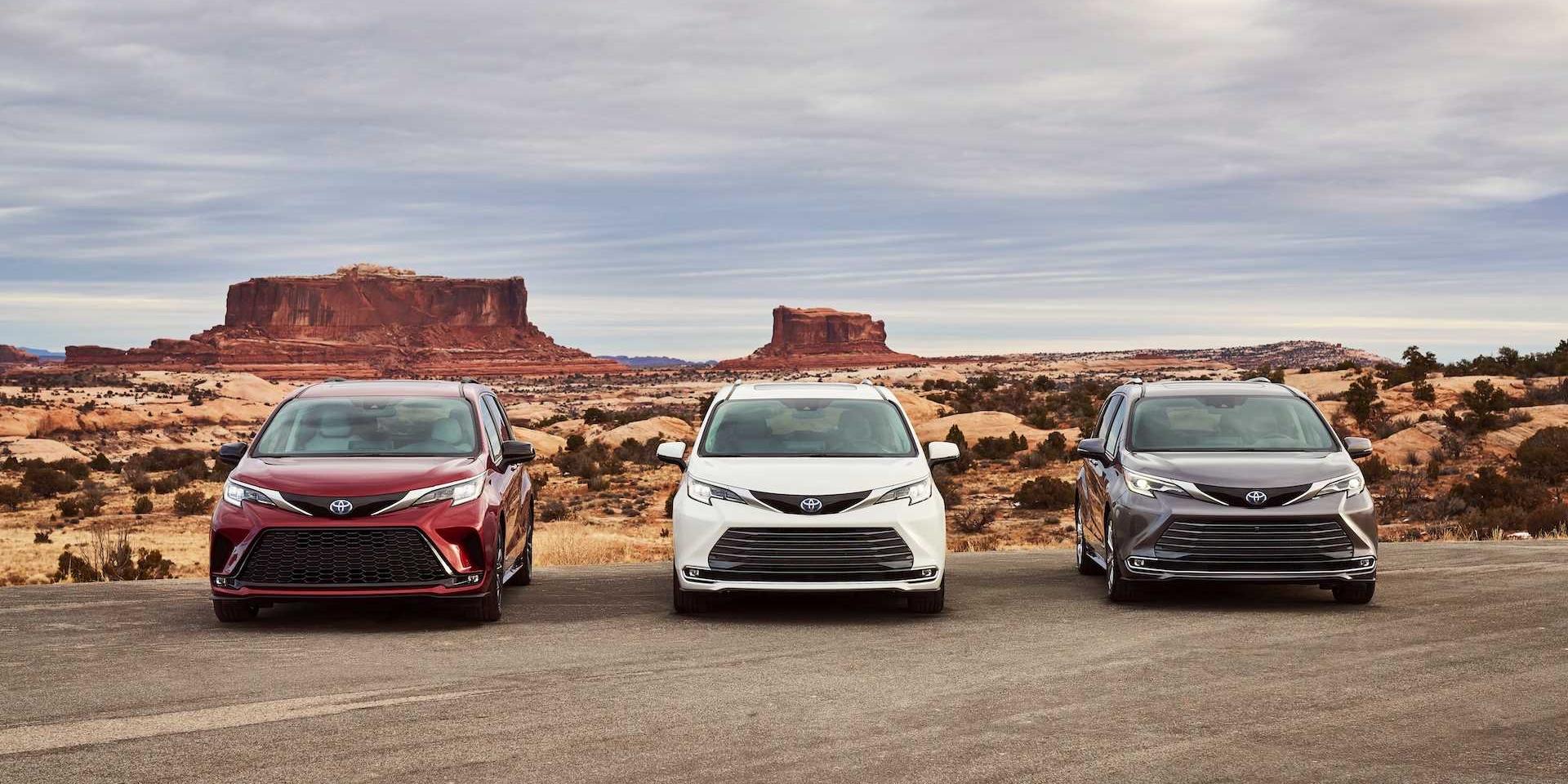 Toyota大改款Sienna亮相!運動化之外更配置油電系統!