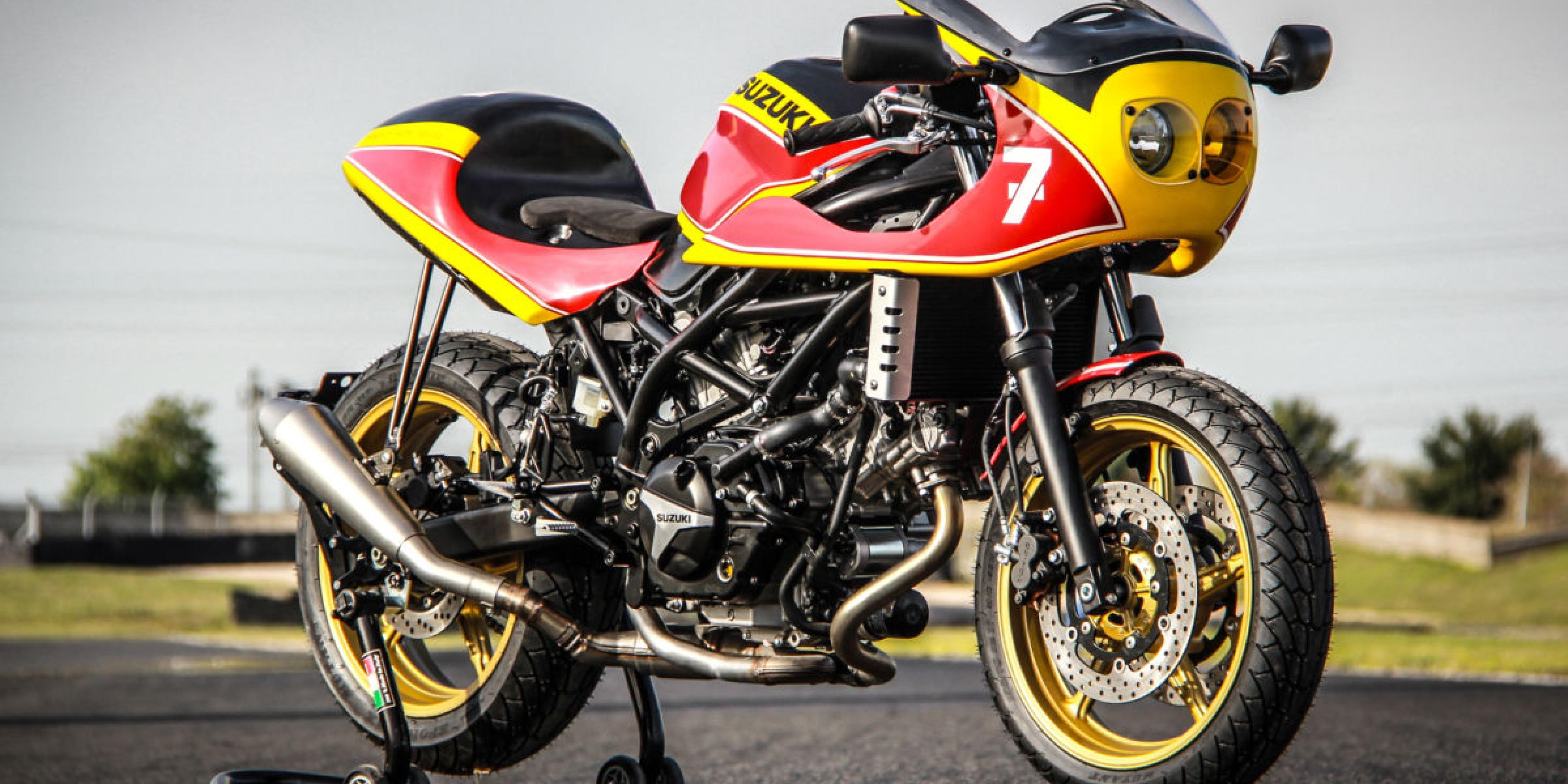 一起寫一個傳說。MotoGP傳奇冠軍Barry Sheene改裝特仕車